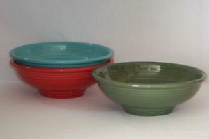 Fiesta-PEDESTAL-BOWLS-Choice-of-Colors-Discontinued-amp-Current-Colors