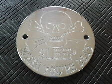 CNC ENGRAVED SLEEP WHEN YOU`RE DEAD IGNITION TIMER COVER HARLEY DAVIDSON BUELL