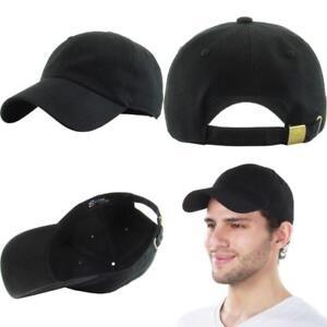 e38ff6a65f Classic Cotton Dad Hat Adjustable Plain Cap. Polo Style Low Profile ...