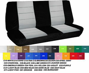 Groovy Details About Fits 1970 Ford F100 Bench Seat Cover 2 Piece Black White Gray Red Tan Choose Evergreenethics Interior Chair Design Evergreenethicsorg