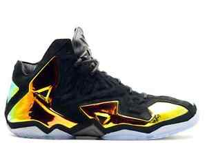 Image is loading NIKE-LEBRON-11-EXT-QS-034-KINGS-CROWN-