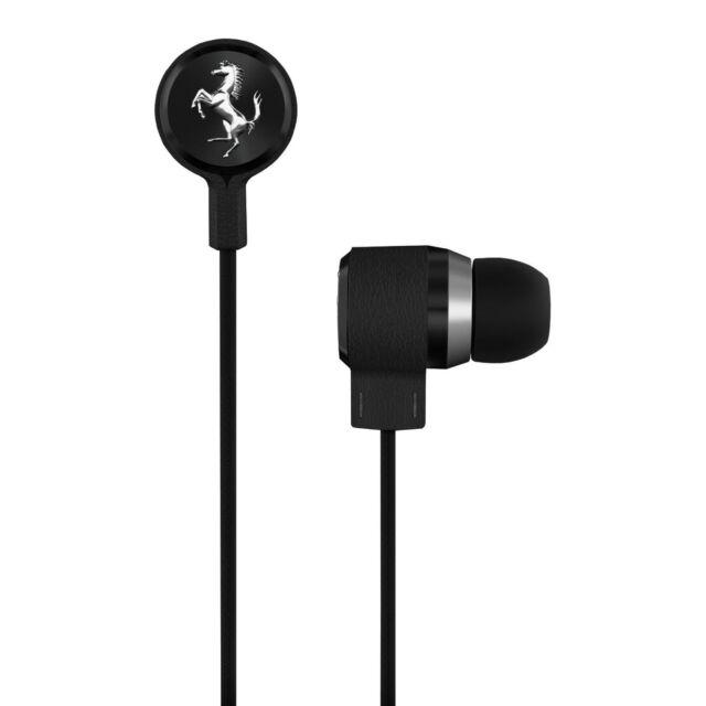 e82de5fcd6b Ferrari Scuderia T150i Black In Ear Headphones anti-Tangle iPad iPhone  Remote B