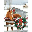 Barn Horse Boxed Holiday Full Notecards by Michael DeYoung 9780735344389