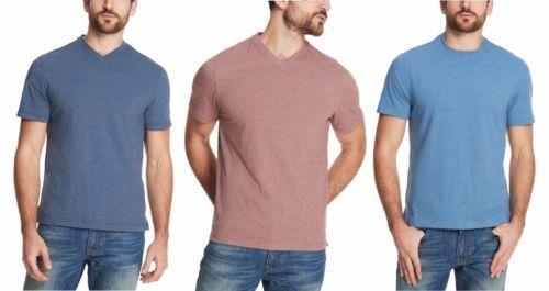 Weatherproof Vintage Men/'s Short Sleeve T Shirt V NECK CREW NECK L XL XXL