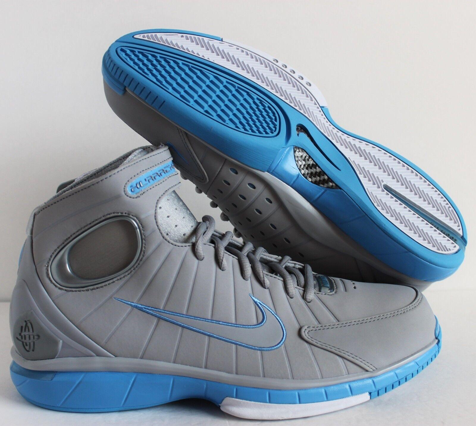 Nike kobe air zoom huarache 2k4 kobe Nike lupo grey-university blu sz 11 [308475-002] 342d30