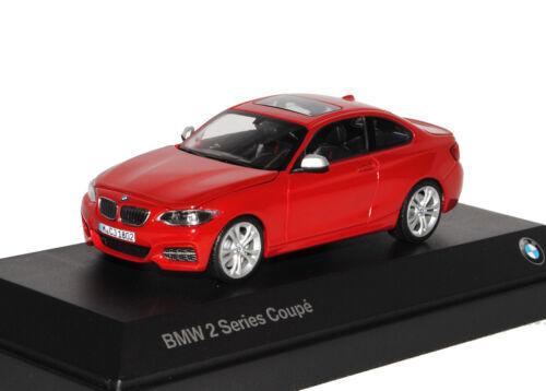 Bmw 2er f22 Coupe Rojo a partir de 2013 1//43 Kyosho modelo coche con o sin individiue...