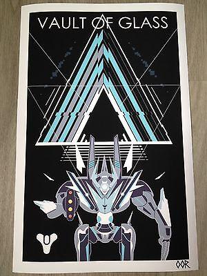 "Destiny Vault of Glass 17/""x26/"" poster print"