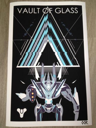 Destiny Vault of Glass poster print