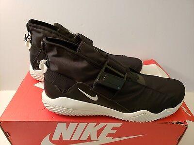Nike Komyuter Men Sportswear Black//White Water Resistant Shoe AA2211 001 Sz 11.5