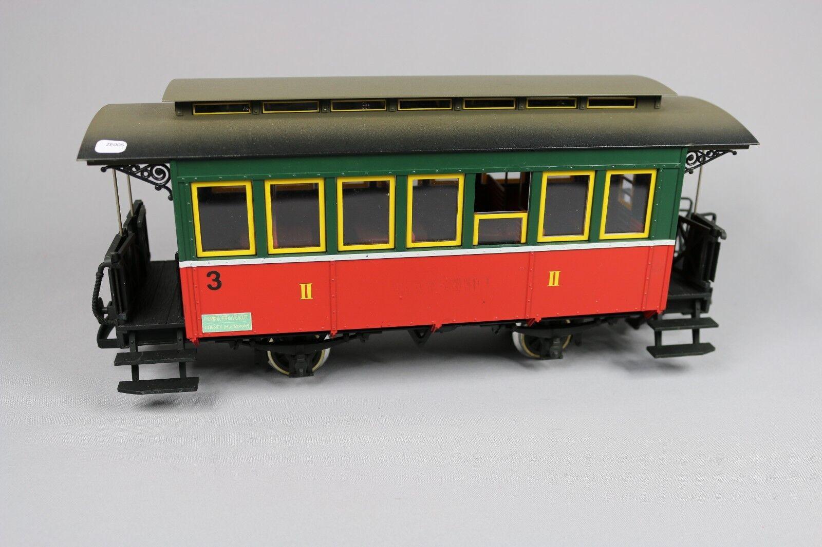 ZE005 LGB By Lehmann train G 32200 voiture voyageur II classe CFBS