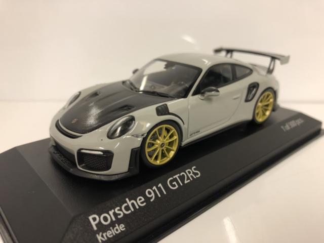 Porsche 911 Gt2 Rs 991.2 Kreide 2018 MINICHAMPS 1:43 410067226 Model