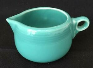 Fiesta-Childs-Turquoise-Creamer-Discontinued-Item