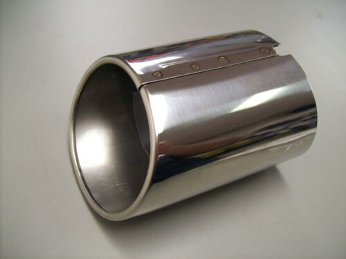 2012-2017 CAMRY POLISHED STAINLESS STEEL EXHAUST TIP GENUINE TOYOTA 17408-0V010