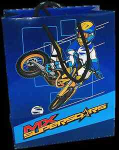 Smooth Industries MX Superstars Dirt Bike Gift Bag w/wrap paper - Small