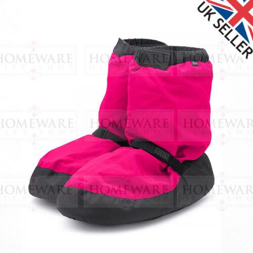 BLOCH WARM UP DANCE BOOTS CHILDRENS KIDS PINK BLUE BLACK BALLET BOOTIES UK10 UK4