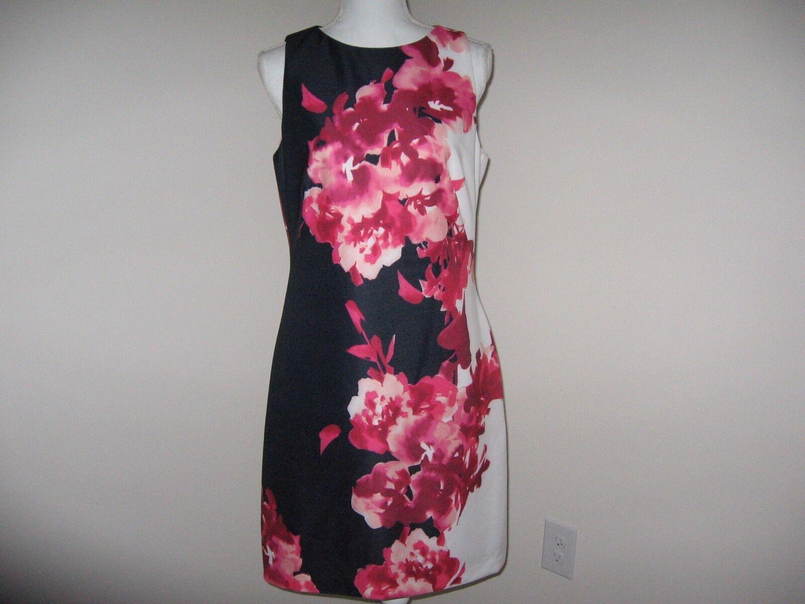 Lauren Ralph Lauren Floral Ponte Dress for Woman SIZE 12  NWT MSRP