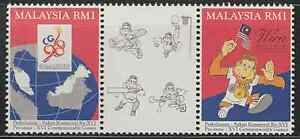 186-MALAYSIA-1994-PRE-ISSUE-XVI-COMMONWEALTH-GAMES-SET-FRESH-MNH