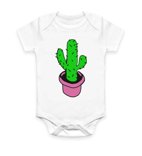 Funny Cactus mignon bébé grandir Body Costume Baby Suit Cadeau Idéal Unisexe 2993