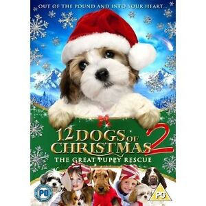 12-Dogs-Of-Christmas-2-The-Great-Puppy-Rescue-DVD-Excellent-DVD-Kieth-Mer
