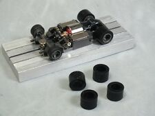 """HO Slot Car Parts - 2 Pairs of Super Tires .416 """"A"""" for """"M"""" Chassis Cars"""