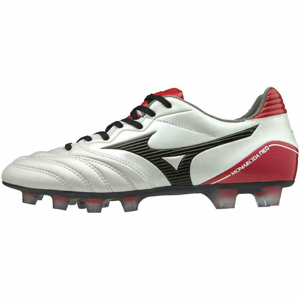 MIZUNO Soccer Football shoes MONARCIDA NEO WIDE P1GA1923 White Red US9(27cm)