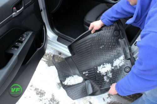 RMVW200102  3D Gummimatten Gummifußmatten für VW PASSAT CC ab 2012 mit Tunel