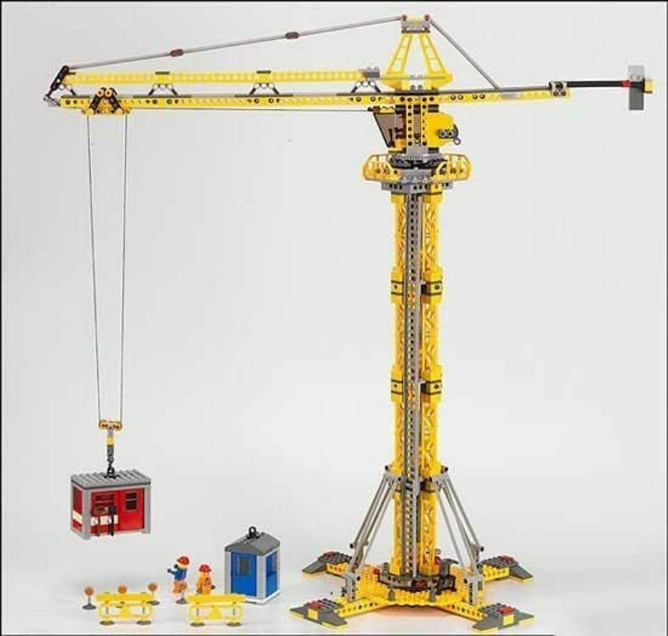 Lego 7905 Tower Crane with Instructions Vintage Rare    Top