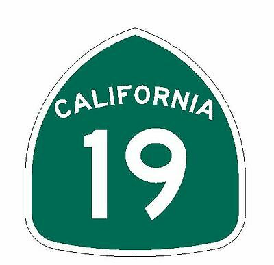 California State Route 213 Sticker Decal R1269 Highway Sign