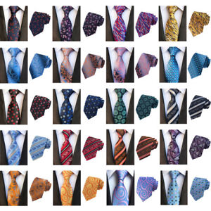 Men-Floral-Paisley-Striped-Wide-Tie-Party-Wedding-Business-Necktie-New-Fashion