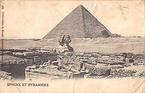 BR46358 Sphinx et Pyramides     Egypt
