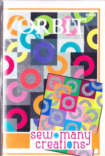 modern pieced quilt PATTERN Sew Many Creation SALE Orbit
