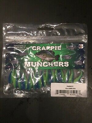 "Crappie Munchers 2"" 15ct Sour Grape"