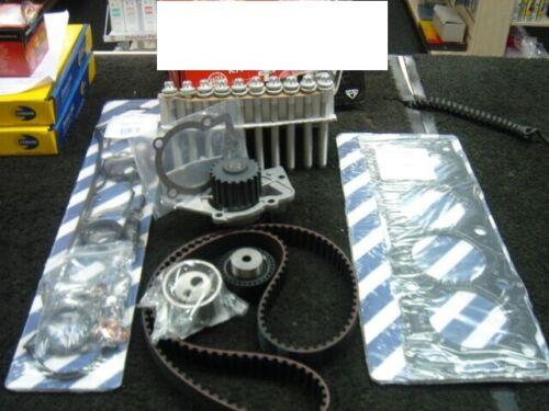 Fiat Scudo 1.9D DW8 joint de culasse set boulon à tête Courroie De Distribution Kit Pompe à eau