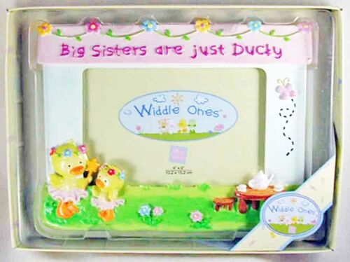 NEW! Widdle Ones Big Sisters are Just Ducky Photo Frame from Russ Baby 34502