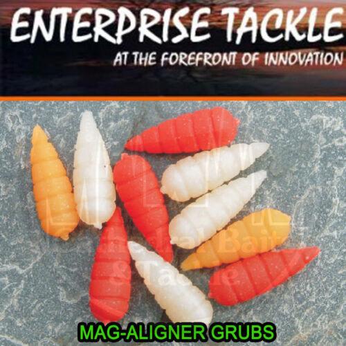 Enterprise Tackle Artificial Mag Aligner Mixed Grubs Carp Bait Coarse Fishing