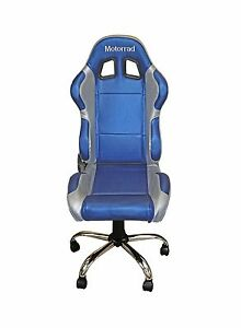 Pleasing Details About Office Chair With Bmw Motorrad Colours Also Use At Home Or Garage Chrtem33 Machost Co Dining Chair Design Ideas Machostcouk
