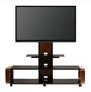 Transdeco Tv Stand W Universal Mount Amp Caster For 40 50