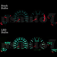 Dash Instrument Cluster Gauge Green Led Lights Bulbs Kit Fits 99-04 Ford Mustang