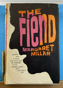 The-Fiend-by-Margaret-Millar-1964-Hardcover-Mystery-Book