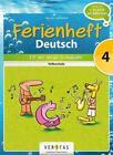 Ferienheft Deutsch 4. Volksschule von Jutta Schabhüttl (2014, Geheftet)