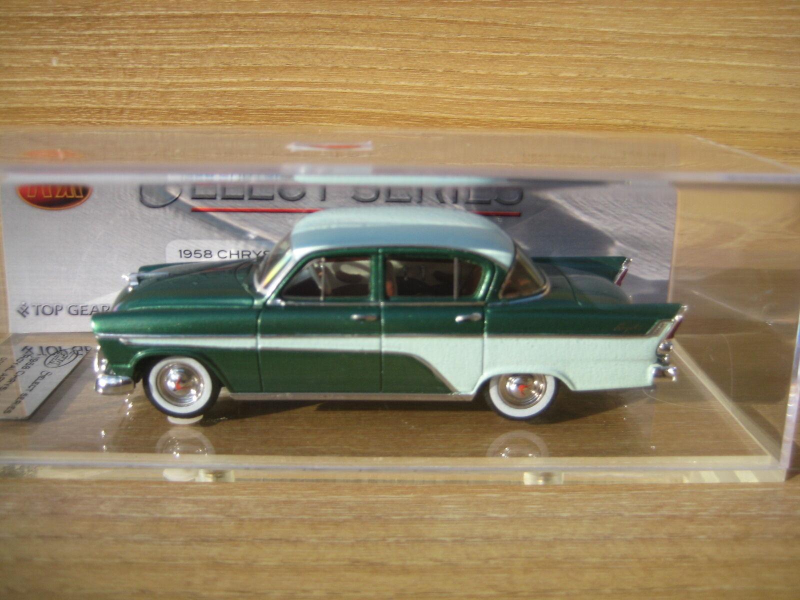 Trax seleccione serie TSS06B Chrysler Royal AP1 verde de gastos de envío gratis