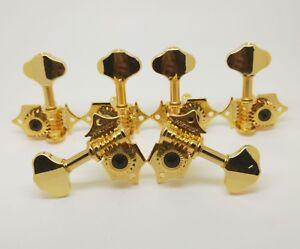 NEW-Wilkinson-3L3R-Vintage-Open-Gear-Butterbean-Guitar-Tuners-Golden-WJ-28N