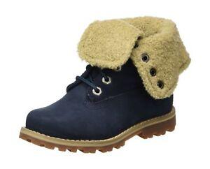 Shearling Timberland Kids azul Unido Reino Boot '6 Inch Unisex marino Blue 4 Rw7xw4qnUr