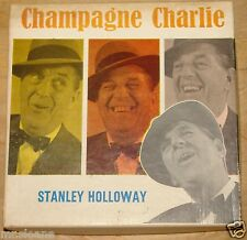 STANLEY HOLLOWAY ~ CHAMPAGNE CHARLIE ~ REEL TO REEL AUDIO MUSIC TAPE 3 3/4 IPS