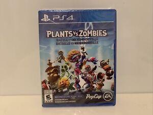 Plants Vs Zombies Battle For Neighborville - Sony PS4 - Brand New Sealed!
