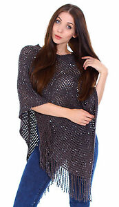 Women-s-Loose-Poncho-Cape-Sweater-Knitted-Top-Shawl-Wrap-Coat