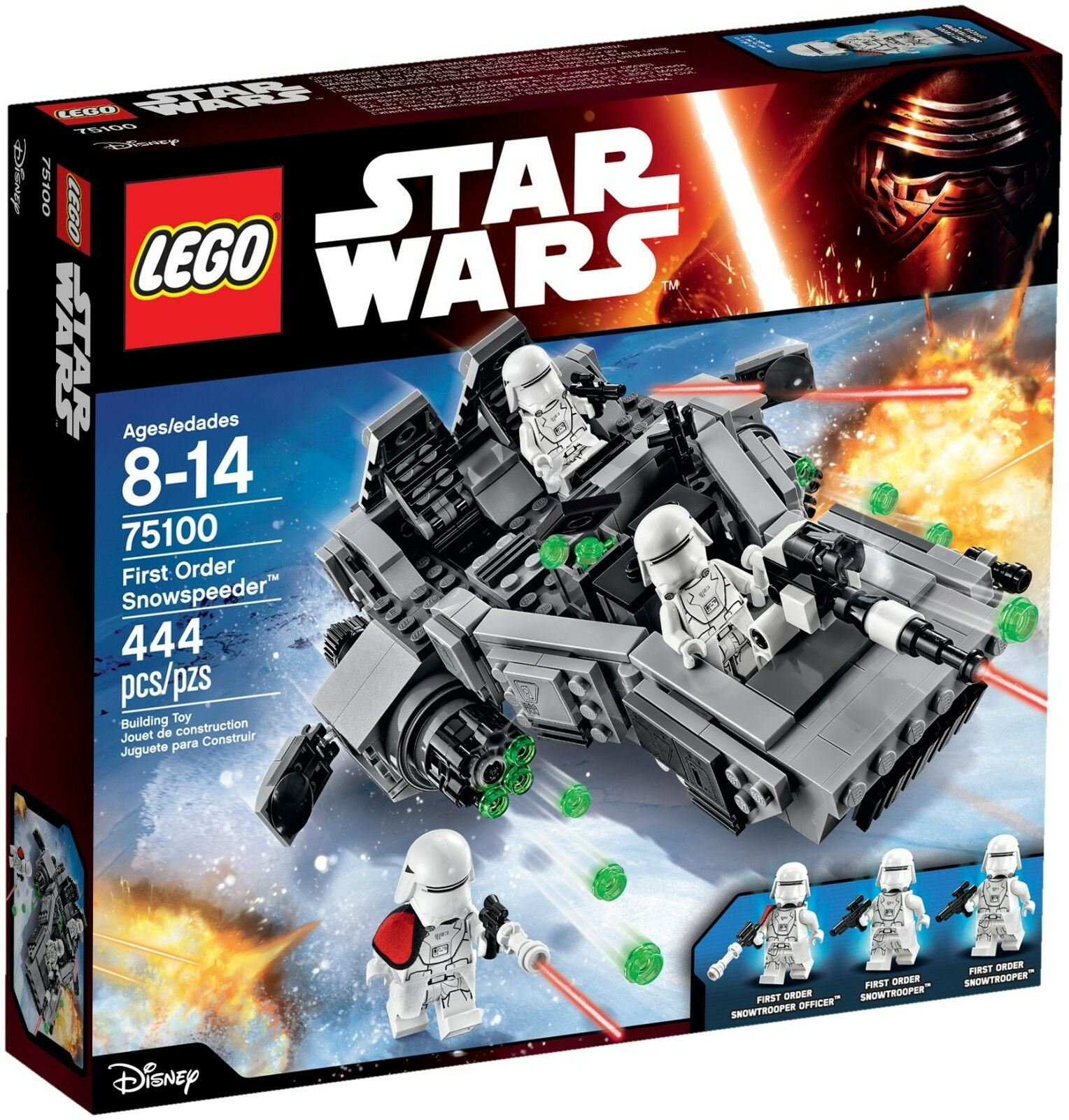 Lego Star Wars Wars Wars - 75100 - First Order Snowspeeder - NEUF et Scellé 0ad542