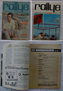 RALLYE-n-63-1964-Richard-Antony-Tour-de-France-Belmondo-De-Broca-Graham-Green