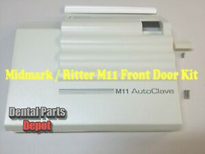 Midmark M11 Sterilizer Replacement Front Door Panel Kit (Red Display) (#MIK195)