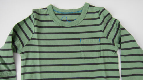 BODEN BOYS LONG SLEEVED STRIPE TOP TEE SHIRT 100/% COTTON AGES 2-10 BNWOT